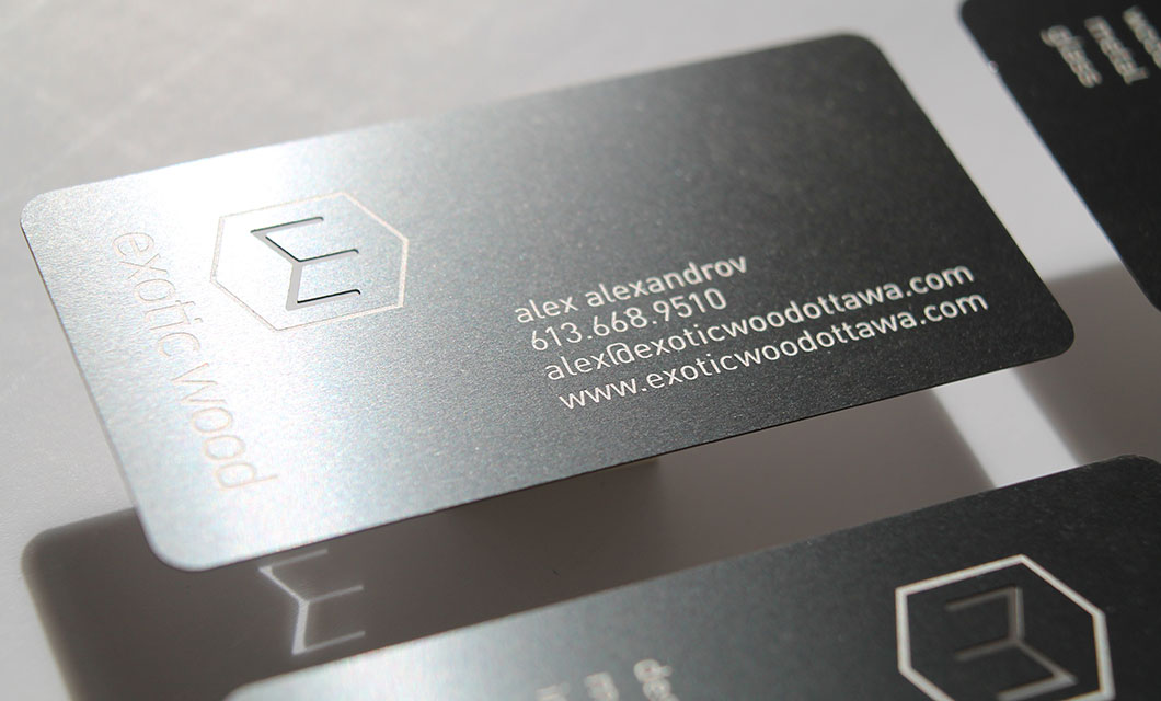 All Categories - Metal Wood Business Cards